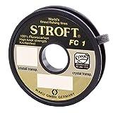 Stroft FC1 Monofile Angelschnur, 25m, grau, Unisex, 0,330mm-8,7kg
