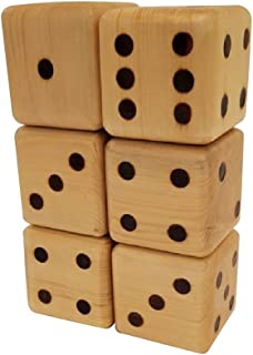 GIANT DICE- Set of natural wooden by Logs & Blocks. A popular addition game - enhance your kid math's learning and develop...