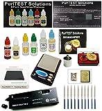 Digital Scale + Electronc Diamond Detector + Gold/Silver/Platinum Testing Kit + PRO Test Stone + Eye...