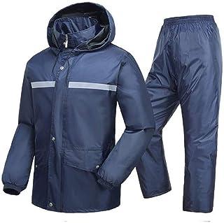 QXF-D Men's Snow & Rainwear Adult Single Riding Split Raincoat Set Waterproof Raincoat For Unisex Outdoor Activities Fishi...