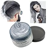 Hair Coloring Wax, Disposable Instant Matte Hairstyle Mud Cream Hair Pomades for Kids Men Women to...