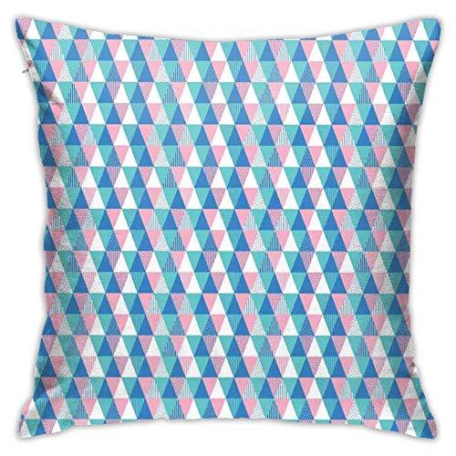 qidong Fundas de cojín decorativas malista suave tono simétrico formas con manchas Funda de almohada fundas de cojín para el hogar sofá dormitorio 18 18