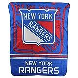Northwest NHL Fade Away Printed Fleece Throw, 50' x 60' (New York Rangers)
