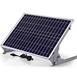 SUNER POWER 12V Waterproof Solar Battery Trickle Charger & Maintainer - 30 Watts Solar Panel Built-in Intelligent MPPT Solar...