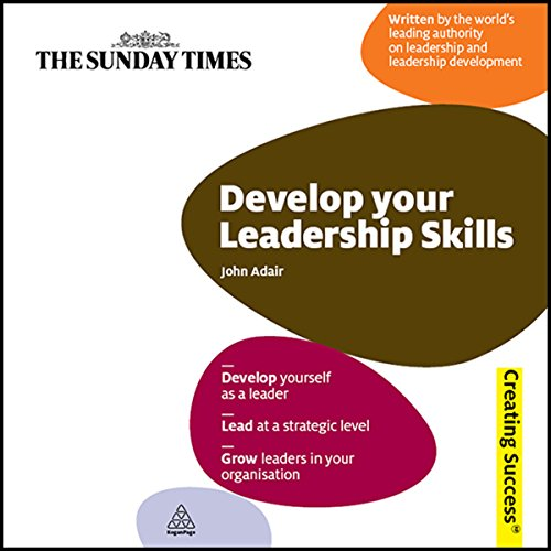 Develop Your Leadership Skills  audiobook cover art