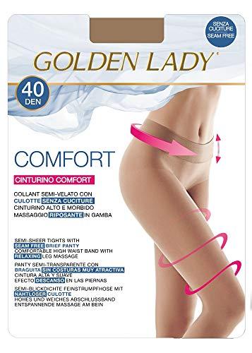 Golden Lady | Mallas sin costuras | 40 den Negro Negro (XL