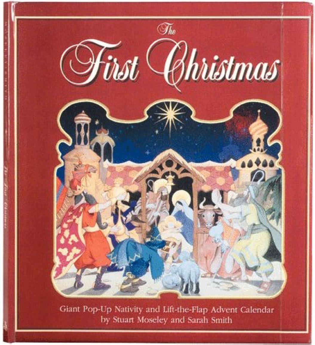 チームマスク水っぽいThe First Christmas: Giant Pop-Up Nativity and Lift-The-Flap Advent Calendar