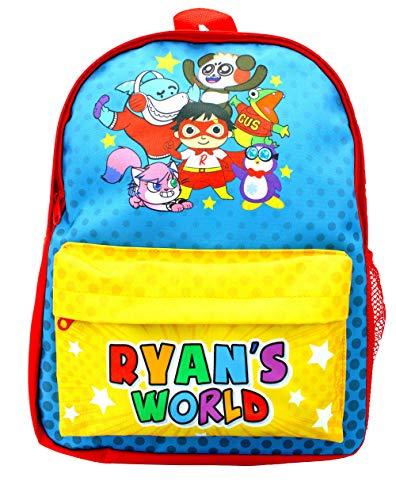 Ryan's World Backpack Ryans World School Backpack for Boys