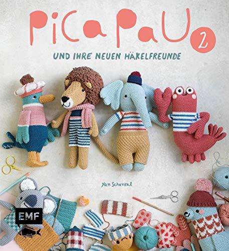 Pica Pau und ihre neuen Häkelfreunde – Band 2: Ameisenbär, Elefant und Gazelle