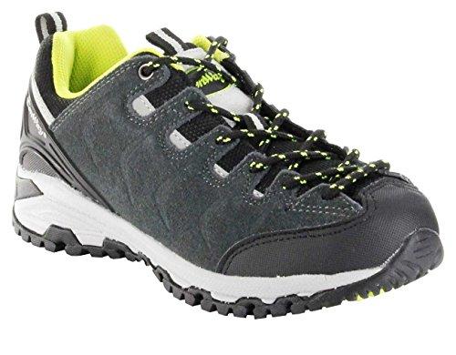 ConWay Sportschuhe grau Schnürsenkel Herren Outdoor Trekking Schuhe Denver Grey, Farbe:grau, Größe:46 EU