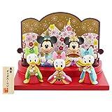 【東京ディズニーリゾート限定】ミッキーとミニーのひな人形(3人官女) お雛様 おひな様 雛飾り 雛人形