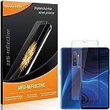 SWIDO Schutzfolie für Realme X2 Pro [2 Stück] Anti-Reflex MATT Entspiegelnd, Hoher Festigkeitgrad, Schutz vor Kratzer/Folie, Bildschirmschutz, Bildschirmschutzfolie, Panzerglas-Folie
