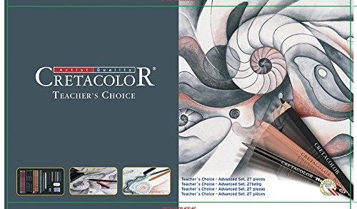 Cretacolor 400 42 – Juego de expansión, 27 piezas, Teache