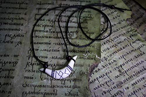 ᛚᛟᚲᛁ LØKI SMILE Unisex runic amulet, Øld Nørse,Icelandic,Asatru God,Nordic,Scandinavian,Odinism,Paganism,Celtic,Viking Pendant Elk Necklace