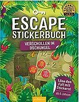 Escape-Stickerbuch Verschollen im Dschungel: Loese den Fall mit Stickern!