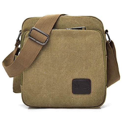 MeCooler Schultertasche Canvas Umhängetasche Designer Marken Reisetasche Taschen für Männer Schule Retro Weekender Freitag Günstig Messenger Strandtasche Sporttasche Reisetaschen