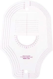 D DOLITY フランスカーブルーラー キルティングツール 縫製用 多機能 高品質 曲線定規 ミシン用アクセサリ