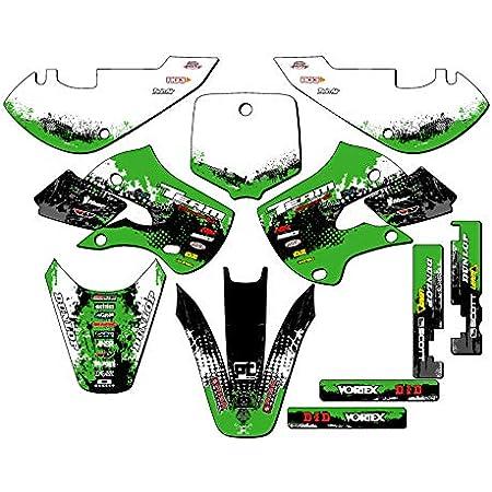 Team Racing Graphics kit compatible with Kawasaki 1985-2004 KX 60 ANALOG Complete Kit