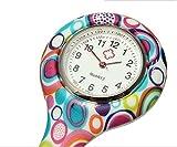 Hicustomer Reloj de Bolsillo de la Enfermera de la impresión del Color del Reloj Especial médico Impreso