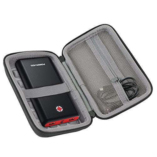 co2CREA Hart Tasche für POWERADD Pilot X7 20000mAh Externer Akku Power Bank Case Etui Tragetasche (Enthält keine Power Bank)