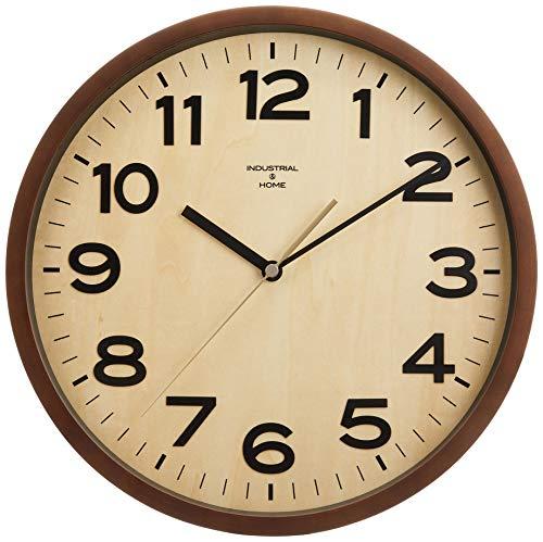 INTERFORM INC. インターフォルム 電波掛け時計 DARYL - ダリル - NA ナチュラル CL-7973NA φ29.5×d5cm