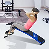 HOMCOM Ab Sit Up Bench Abdominal Crunch Home Fitness Indoor Trainer Exercise Workout Machine