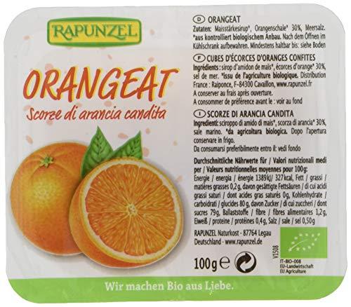 Rapunzel Orangeat ohne Weißzucker, gewürfelt (1 x 100 g) - Bio