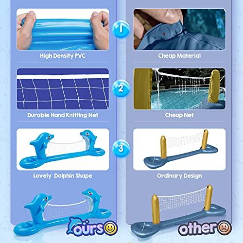 Aufblasbares Pool Volleyballnetz