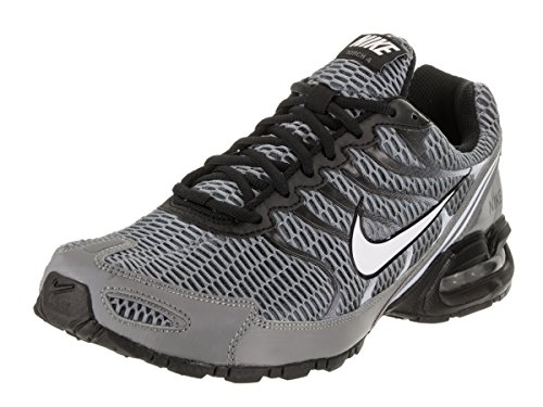 Nike Mens Air Max Torch 4 Running Shoe Cool Grey/White/Black/Pure Platinum Size 12 M US