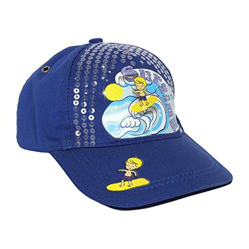 Small Foot Company - 2021034 - Accessoire pour Déguisement - Chapeau De Baseball pour Enfants - Surf