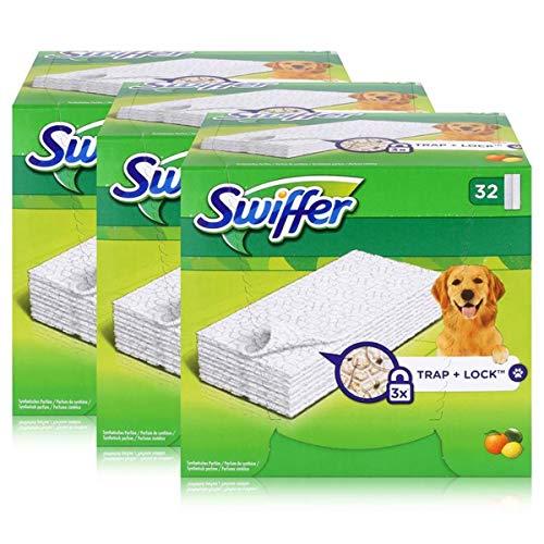 Swiffer Trocken Bodenwischtücher 32er - Mit Zitrusduft (3er Pack)