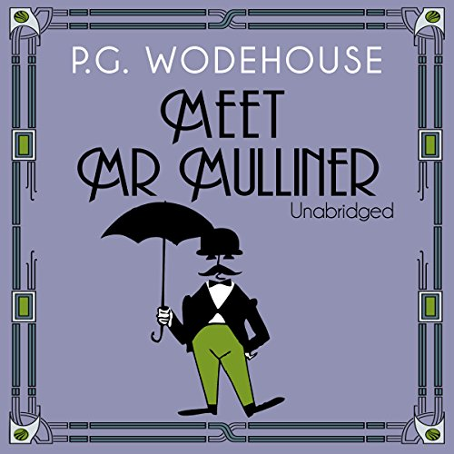 Meet Mr Mulliner audiobook cover art