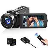 Best Camcorders - Video Camera Camcorder 1080P 30FPS IR Night Vision Review