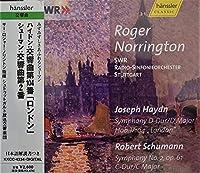 ハイドン:交響曲104番「ロンドン」/シューマン:交響曲第2番