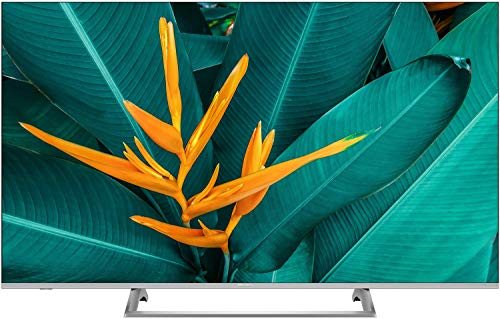 Hisense H55B7500 - Smart TV LED 55' 4K Ultra HD, 3 HDMI, 2 USB, salida óptica, Wifi, Bluetooth, Dolby Vision HDR, Wide Color Gamut, Audio DTS, Procesador Quad Core, Smart TV VIDAA U 3.0 con IA