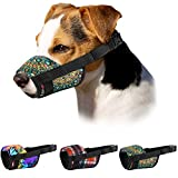 Best Dog Muzzles - Murom Print Dog Muzzle for Small Medium Large Review