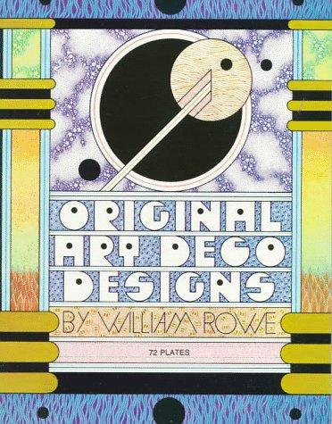 Original Art Dec Designs: 72 Plates (Dover Pictorial Archives)