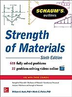 Schaum's Outline of Strength of Materials, Sixth Edition (Schaum's Outlines)