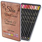 Light Tone Skin Pencils, Perfect Coloured Pencils Set For Adults and Drawing Pencil