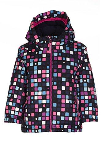 Killtec Kinder Cony Allover Mini Outdoorjacke, Neon Pink, 110/116