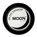 Moon Glow - Ombretto per la luce Neon UV 3.5g Bianco – produce un'incredibile brillantezza sotto l'illuminazione UV/luci scure