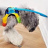 ksiuiue ペットリング 衝突防止 盲目リング 犬用 保護ベスト フェイスガード ペット保護リング 大きさ調整可能 老犬 高齢犬 盲犬 介護用品(XXS)