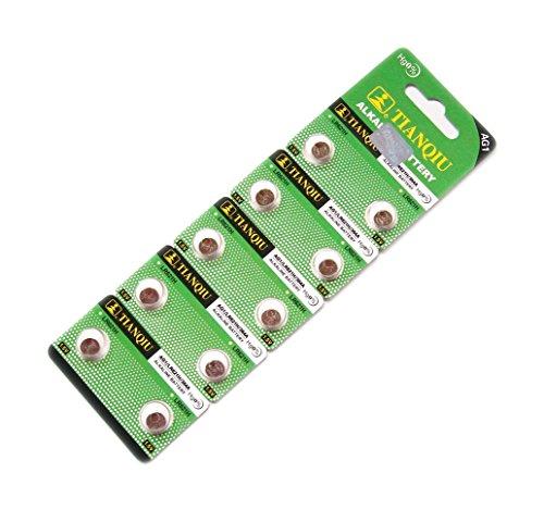 TIANQIU ボタン電池 10個入り 1シート LR621