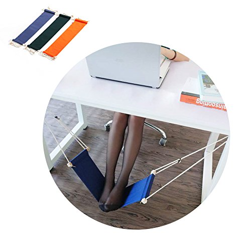 HaloVa Foot Hammock Portable Adjustable Office Foot Rest, Mini Under Desk Foot Rest Hammock for...