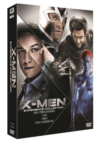 Col. X Men  (X-Men / X-Men 2 / X-Men 3: La Decisión Final / X-Men: Primera Generación) [DVD]