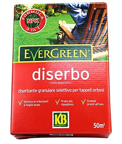 KB Concime Evergreen Diserbo PFnPE, 1kg