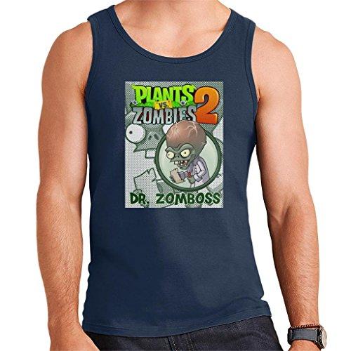 Plants Vs Zombies Dr Zomboss Men's Vest