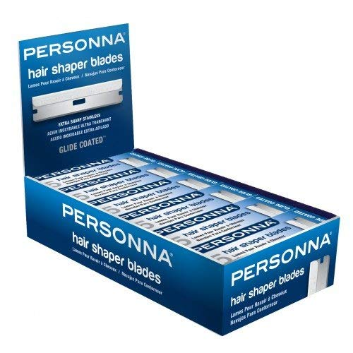 Personna hair shaper blades 12 boxes 60 blades plus 12 free BP8800P