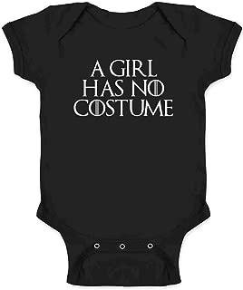 A Girl Has No Funny Halloween Costume Infant Baby Boy Girl Bodysuit