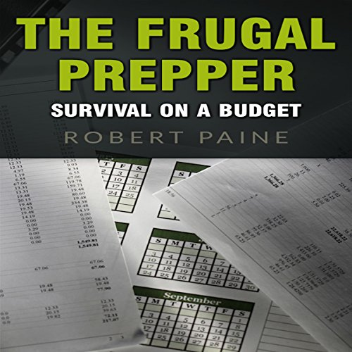 The Frugal Prepper audiobook cover art